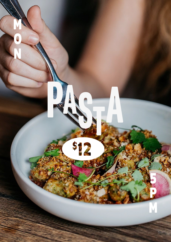 $12 pasta every Monday at The Carrington Surry Hills